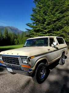 1979 Ford Bronco Custom | eBay
