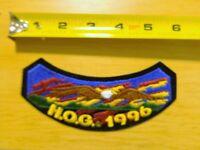 1996 Harley Davidson Owners Group Patch Chapter Rocker Flstf Fxsts Fxdwg Hog