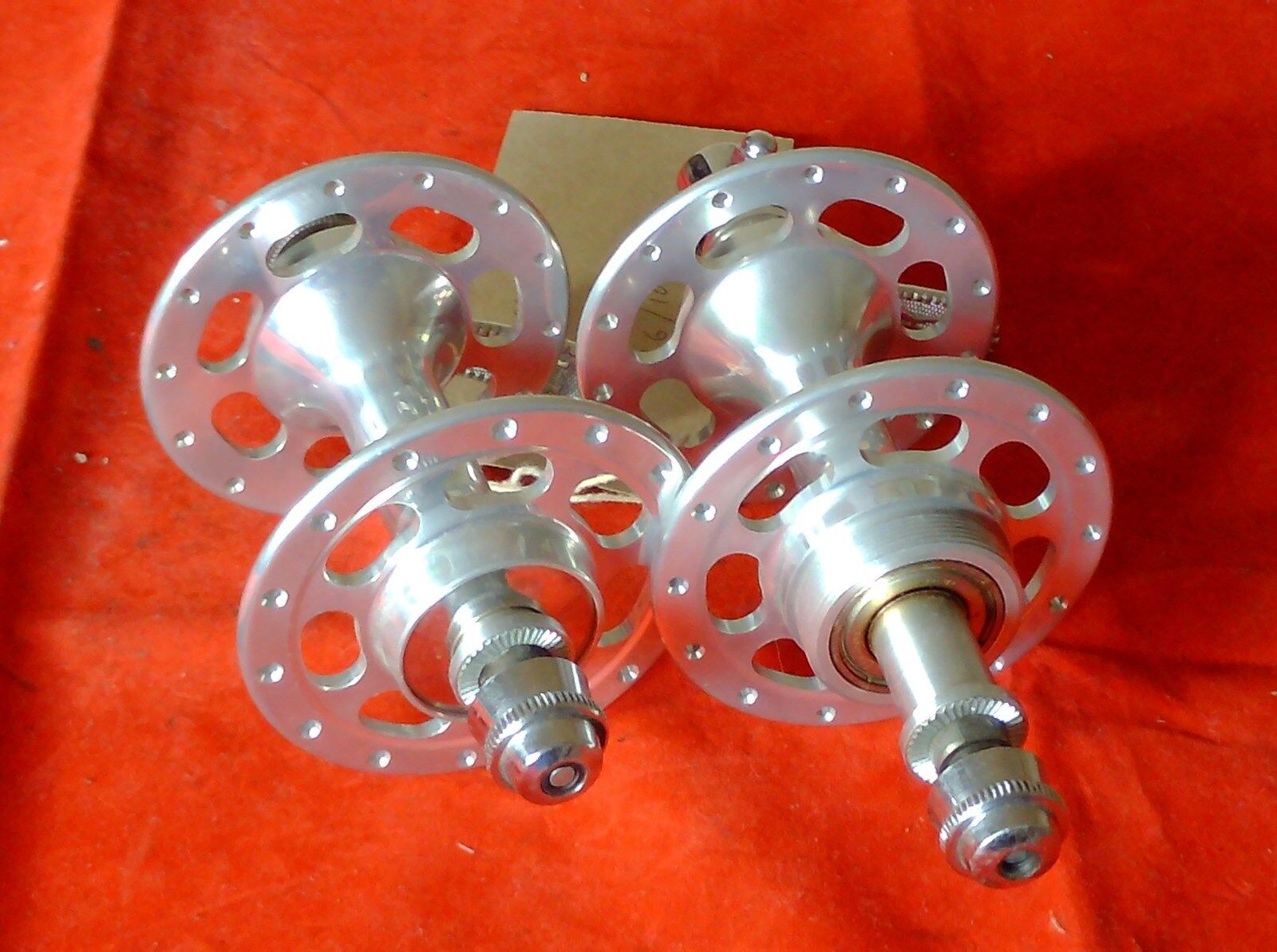 NOS ROYCE 28 HOLE HIGH FLANGE HUBS, 1980's