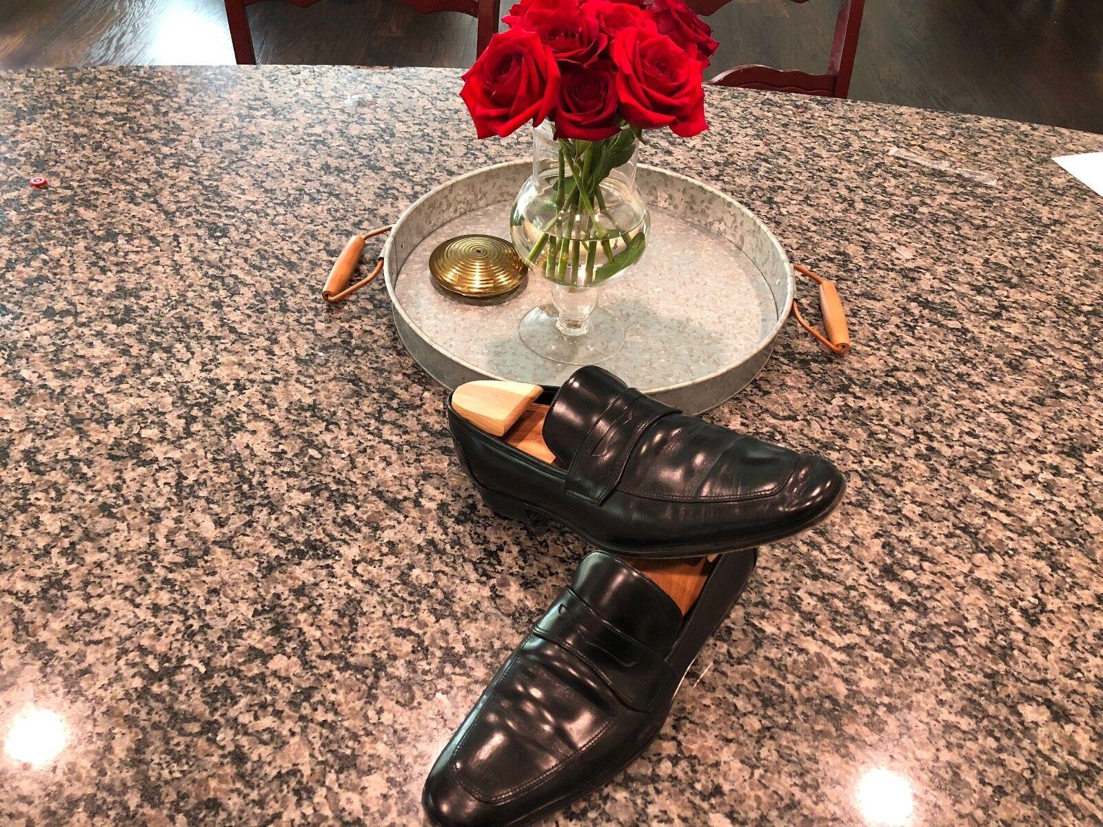 Rare Rare Rare  750 Salvatore Ferragamo LIONEL LAVORAZIONE ORIGINALE schuhe Penny Loafers 72ce3d