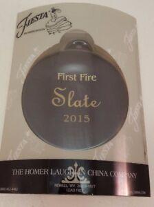 Fiestaware-Slate-Ornament-First-Fire-Fiesta-Dark-Grey-Christmas-Ornament