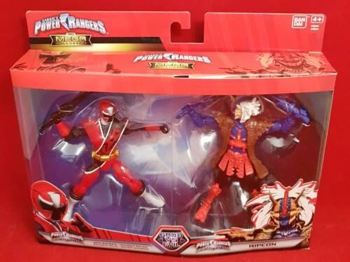 Power Rangers Bonne vs Evil Red Ranger ripcon Mega Collection Action Figure 43849