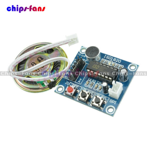 ISD1820 Sound Recorder Voice Recording Module With Micophone Loudspeaker