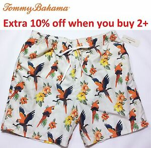 Clothing, Shoes & Accessories Humorous Men's Size Xl Blue Tommy Bahama Swim Trunks