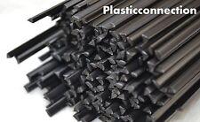 PPE/PA  Plastic welding rods 4mm black,  15 pcs triangular shape