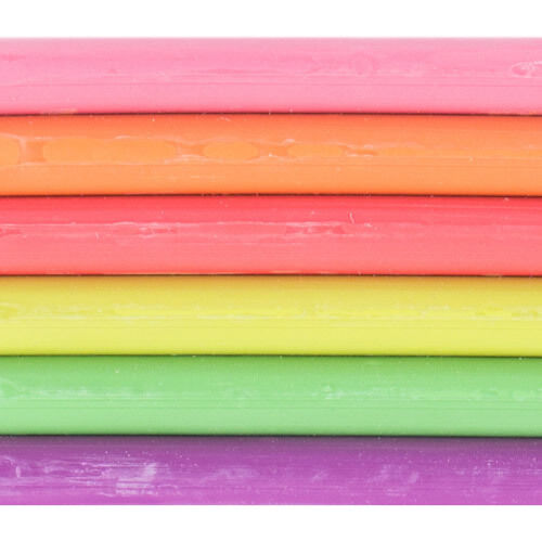Plasticine Alternative 3pk 500gm Newplast Bright Non Toxic