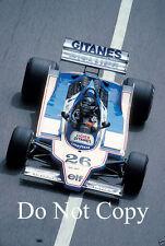 Jacques Laffite Ligier JS11 Monaco GP 1979 fotografía