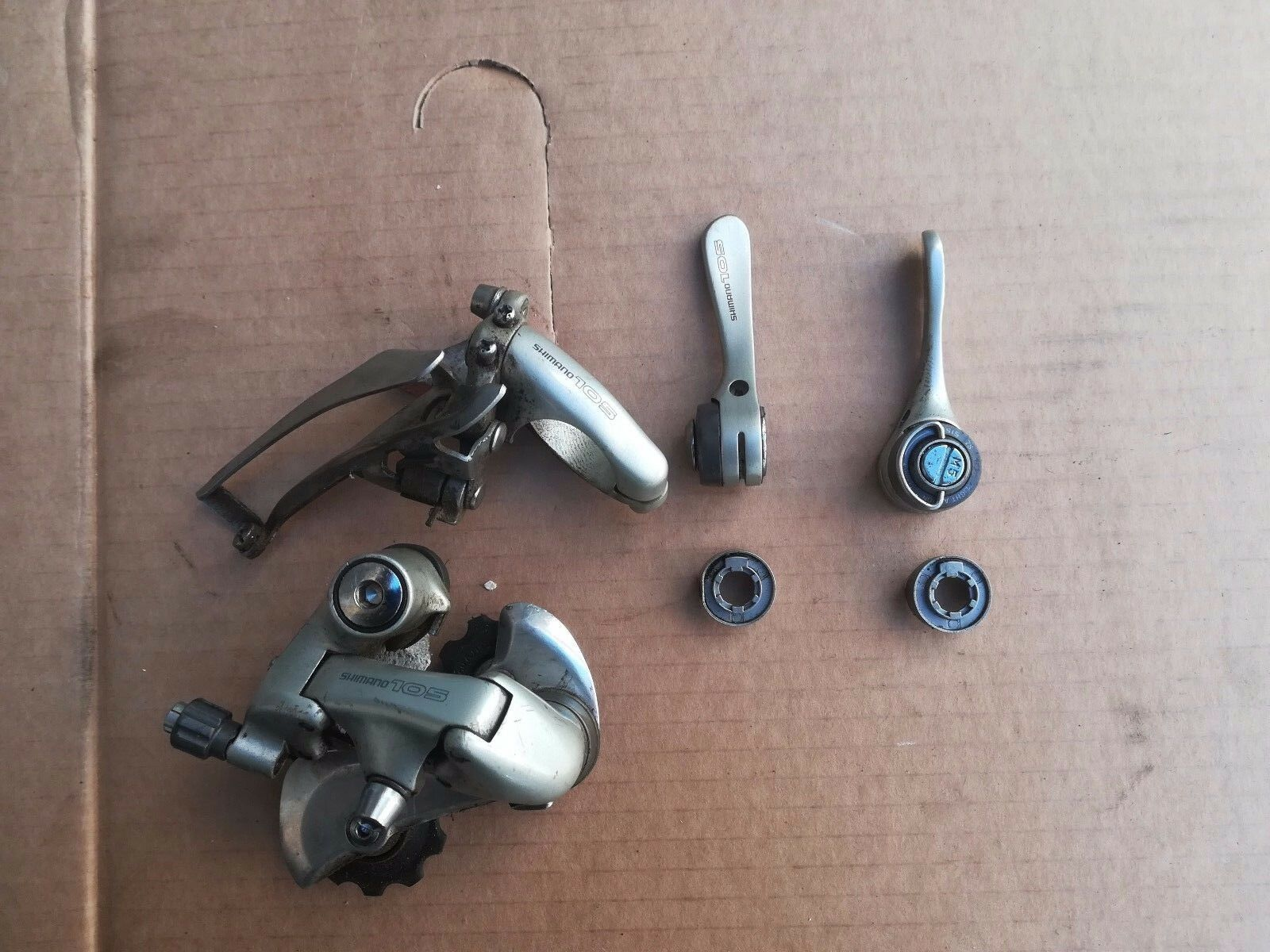Shimano 105 Gears Front Rear deraillreur + Lever Lever vintage  eroica  be in great demand