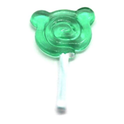 3Pcs Dollhouse miniature candy lollidoll house accessories toys Hs