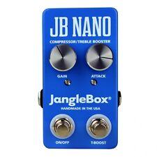 JangleBox JB Nano Compressor/Treble Booster Guitar Effects Stompbox FX Pedal