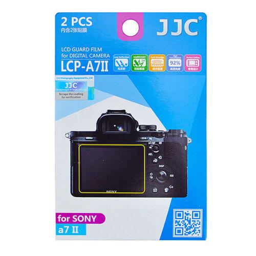 2x Film Protection Ecran LCD Dureté H3 pour Appareil Photo Sony A7II A7SII A7RII