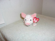 MWMT Ty Beanie Baby ~ SOYBEAN the Pig 6.5 Inch