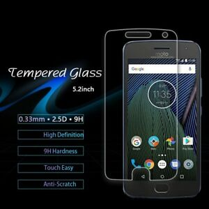 Tempered-Glass-Screen-Protector-Film-Guard-For-Motorola-Moto-G5-G5S-G5-Plus