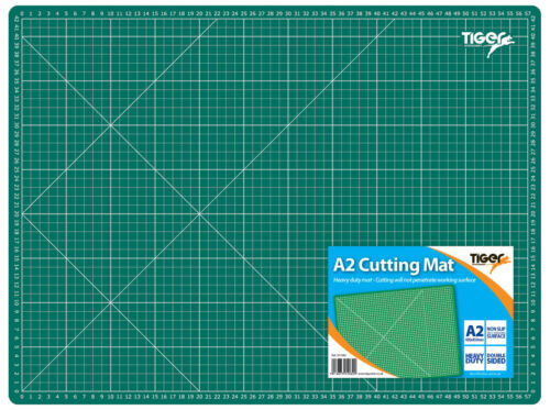 Cutting etc Carving Desk pad Art Sewing Cutting mats , A2 5-Layer self-Healing PVC Cutting pad Board 60 x 45 x 0.3 cm for Various Purposes Painting