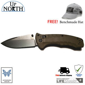 New-Benchmade-980-Turret-Knife-Satin-S30V-Blade-with-G10-Handle