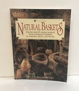 Natural Baskets Book 158 Pages Soft Cover Create Over 20 Unique Baskets Basketry & Chair Caning Guides
