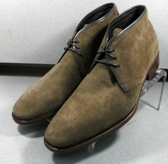 241969 wtibt 60 Homme 11.5 m marron en daim Made in  Johnston Murphy Walk test