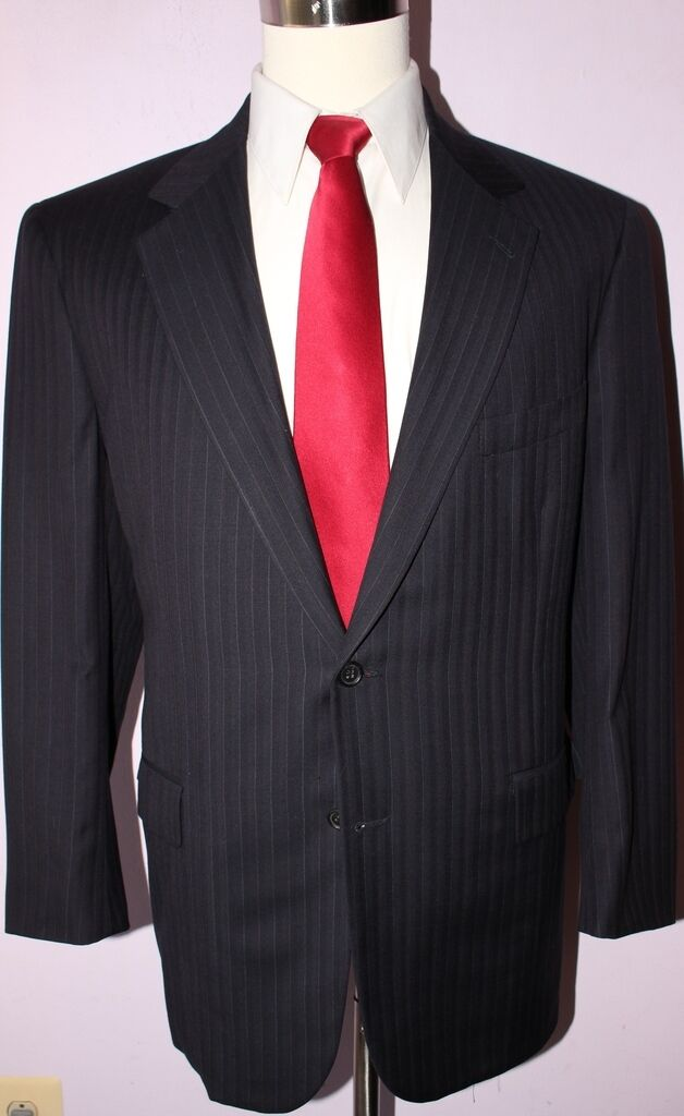 Brooks Bredhers golden Fleece Two Button bluee Herringbone Wool Suit 42 L 36 31 1