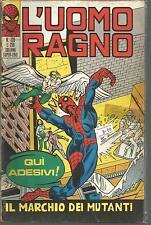 SPIDERMAN-UOMO RAGNO 1a SERIE n°  120 -ED. CORNO- 1970- discreto stato!