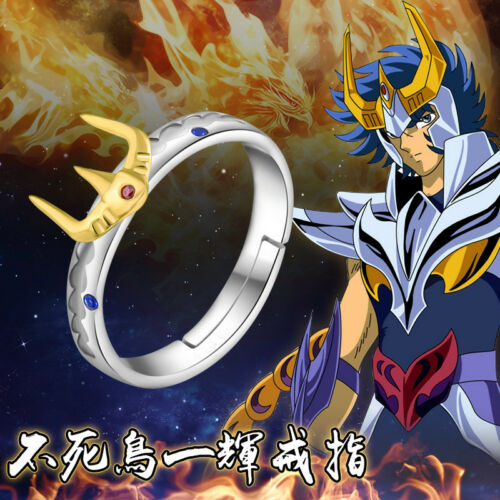 Saint Seiya Cloth Myth Leonis Ikki Cloth Ring 925 Silver Cos Gift USA 7//8//9 Gift