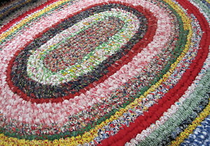 Toothbrush Rag Rug Instructions for OVAL Rug