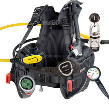 BUCEO EQUIPMENT PACKAGE MARES BCD PRIME TAMAÑO MEDIO MR12s INSTINCT & PUCK