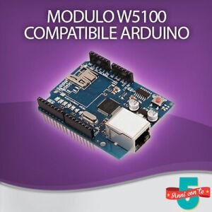 MODULO RETE ETHERNET SHIELD EXPANSION BOARD W5100 CON microSD ARDUINO UNO / MEGA
