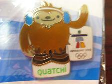 Vancouver 2010 Olympics - Quatchi Mascot Pin
