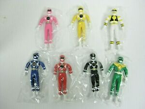 """NEW MIGHTY MORPHINE POWER RANGERS APPROX. 5"""" TALL 1994 NO INDIVIDUAL BOXES LOT 7"""