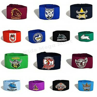 NRL Arm Band Offical Licensed product Choose Your Team New in Pack