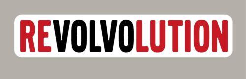 2 X REVOLVOLUTION STICKERS SIGNS
