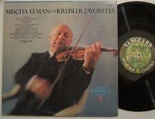 MISCHA ELMAN W/ JOSEPH SEIGER ORIG. STEREO LP PLAYS KREISLER FAVORITES / NEAR M-