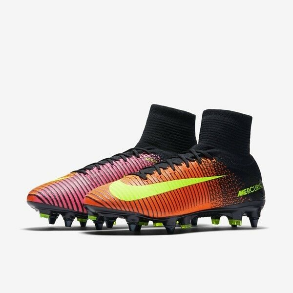newest 08258 ef312 new mens 8/wmns 9.5 Nike mercurial superfly V/5 SG pro 831956-870 soccer  cleats