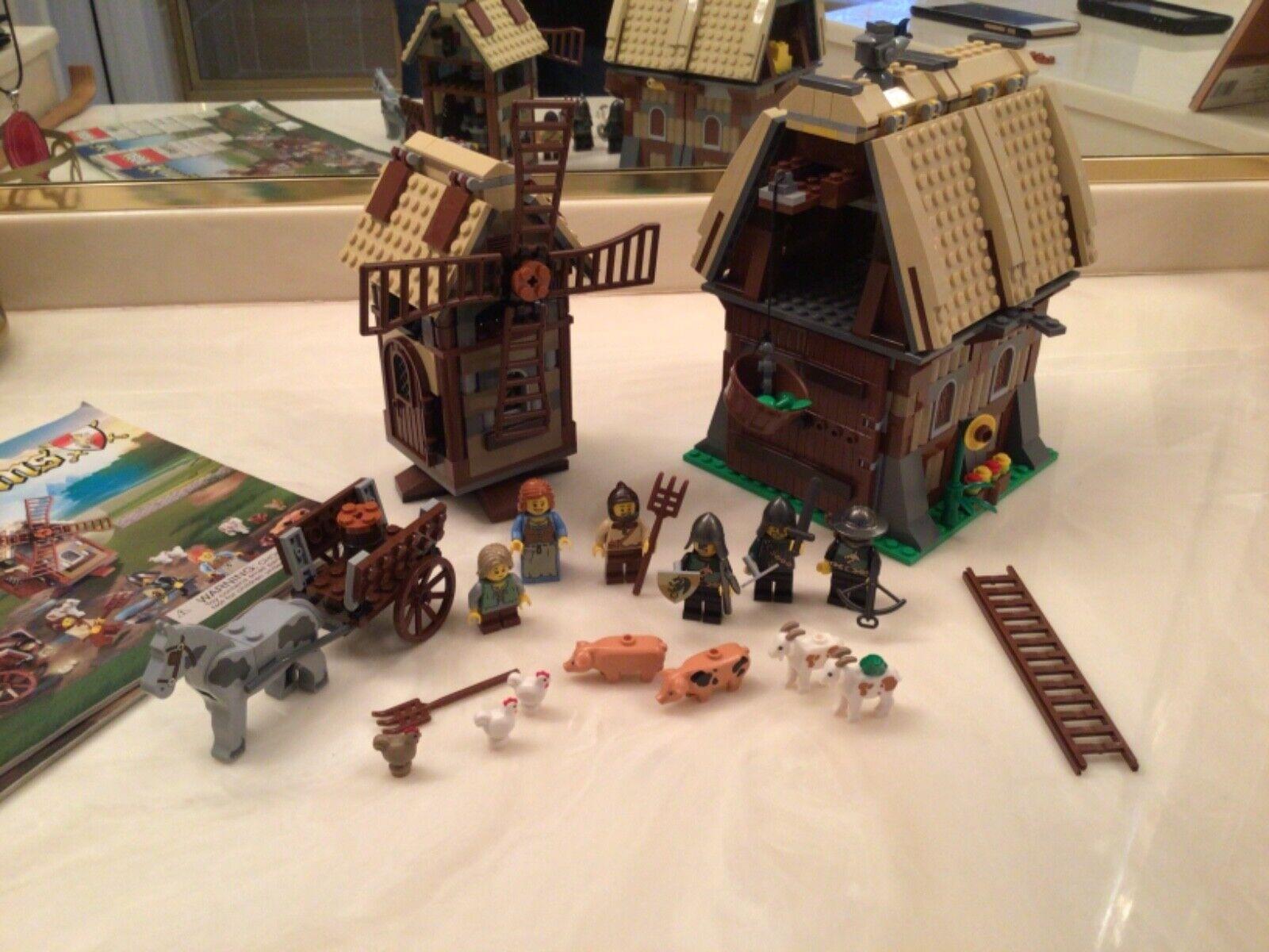 Brand New LEGO Kingdoms 7189 Mill Village Raid