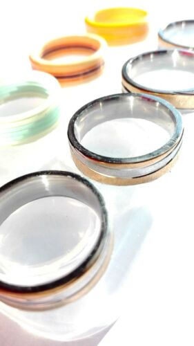 9 Clear silicon mold,size color-6,7.5,8,9 10.5 11.25. wave-8 O-34