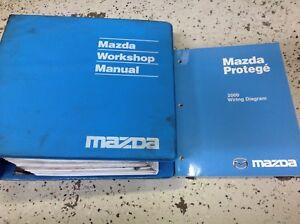 2000 Mazda Protege Service Repair Workshop Shop Manual OEM ...