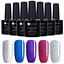 5-Bottles-set-7-5ml-Vernis-a-Ongles-UV-Gel-Polish-Nail-Art-Manucure-UR-SUGAR thumbnail 18
