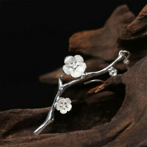 Nice-925-Silver-Flower-Ear-Hook-Women-Jewelry-Wedding-Studs-Drop-Dangle-Earrings