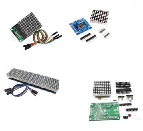 MAX7219 Dot led matrix MCU control LED Display module for Arduino Raspberry Pi K