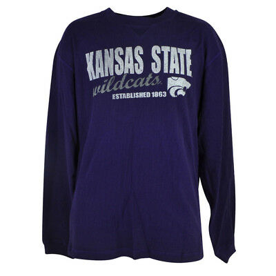 Fanartikel Methodisch Ncaa Kansas Staat Wildcats Streuer Thermo Langärmlig Violett Shirt Herren Adult Verpackung Der Nominierten Marke Baseball & Softball