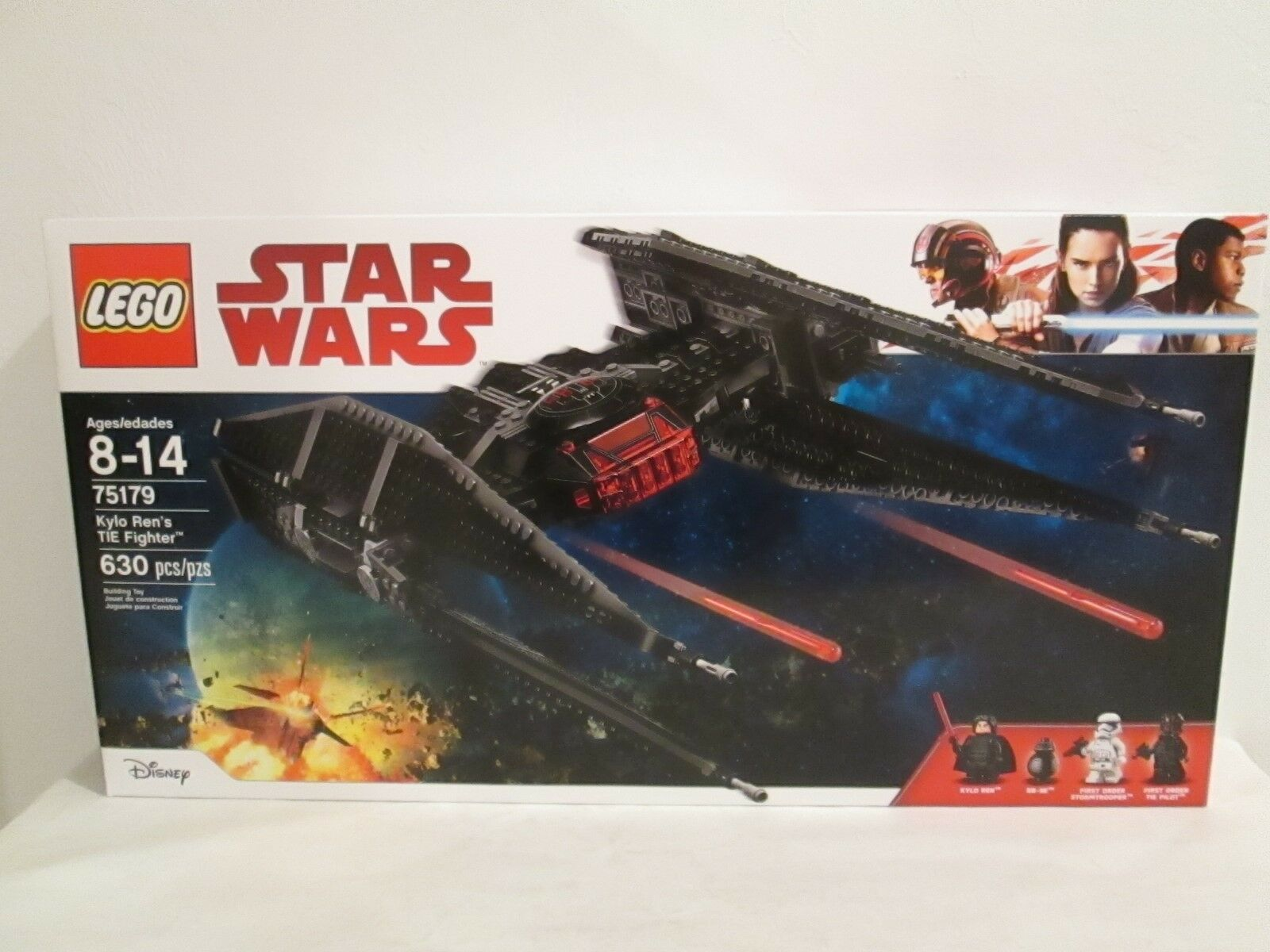 Lego Star Set Kylo Rens Tie Fighter Brand New Sealed Wars 75179