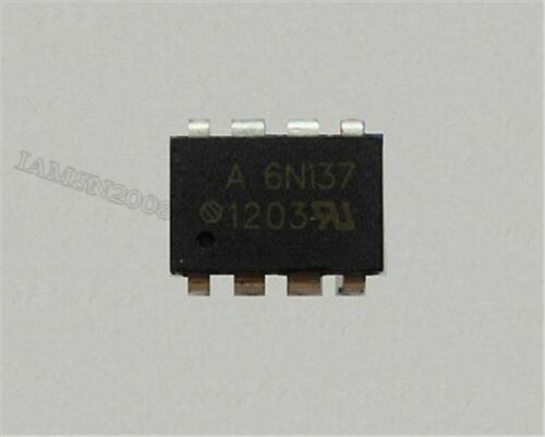 10Pcs DIP-8 6N137 Optoisolatoren Transistorausgang El ct