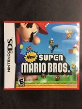 New Factory Sealed New Super Mario Bros Nintendo DS Pristine Condition
