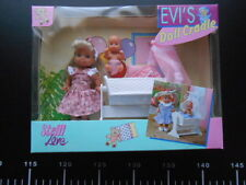 Steffi Love Evi 's Doll Cradle Rosa Simba Bambola