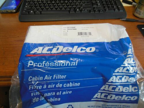 ACDelco Pro CF1104F Cabin Air Filter