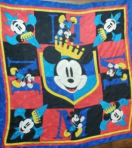 Vintage-Disney-Mickey-Mouse-Scarf-King-Mickey-31-034-x-31-034