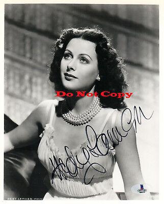 Hedy Lamarr autographed 8x10 photo RP