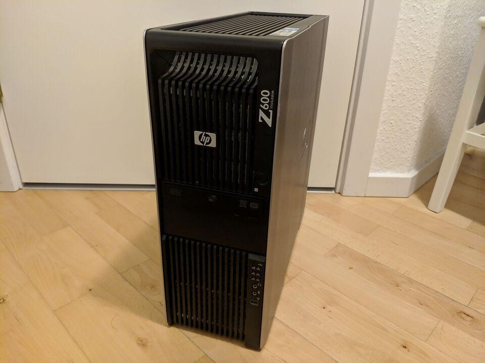 HP, Z600 budget gamer, 3.2 Ghz