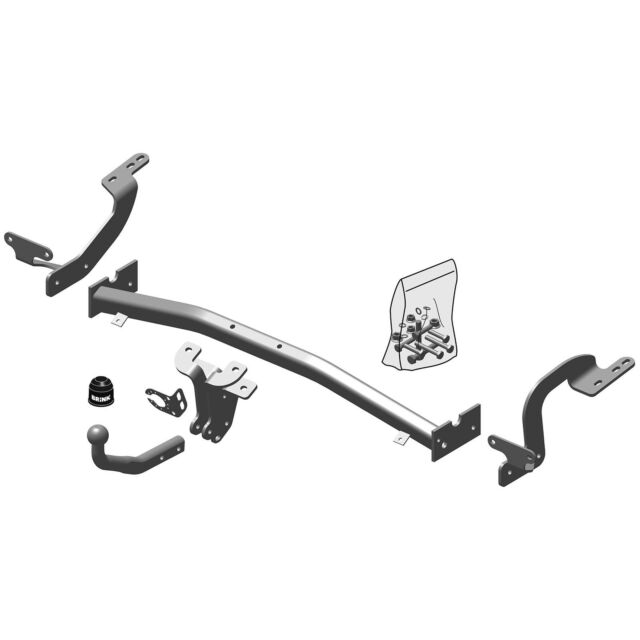Brink Towbar for Citroen C4 Grand Picasso 2006-2013 - Swan Neck Tow Bar