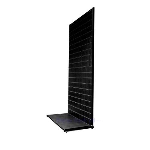 Premium non associate 1000mm Wide Dogato negozio unità in Nero K32//1000B